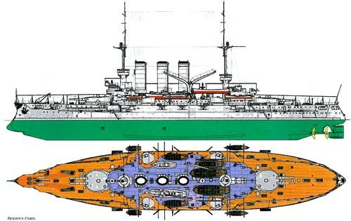 SMS Elsass 1908 [Battleship]