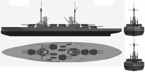 SMS Kaiser (Battleship) (1912)