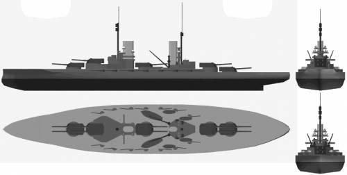 SMS Konig (Battleship) (1914)