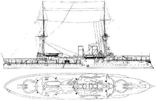 SMS Kurfurst Friedrich Wilhelm 1894 [Battleship]