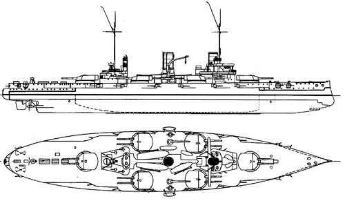 SMS Nassau 1915 (Battleship)