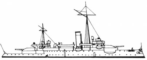 SMS Siegfried (Battleship) (1889)