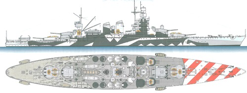 RN Andrea Doria 1941 [Battleship]