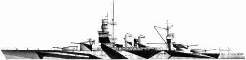 RN Andrea Doria (Battleship) (1937)