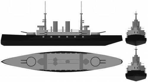 RN Benedetto Brin (Cruiser) (1899)