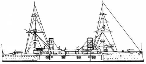 RN Carlo Alberto (Battleship) (1898)