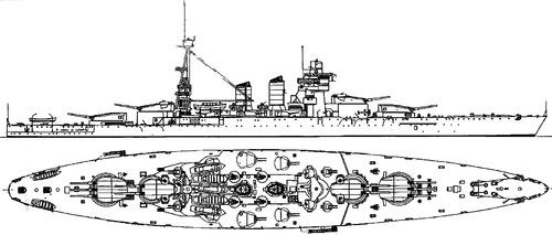 RN Conte di Cavour [Battleship]