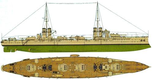 RN Dante Alighieri 1919 [Battleship]