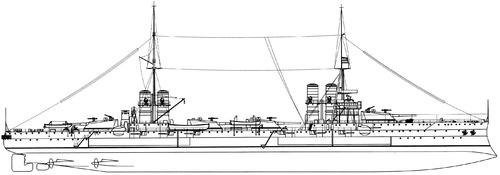 RN Dante Alighieri 1924 (Battleship)