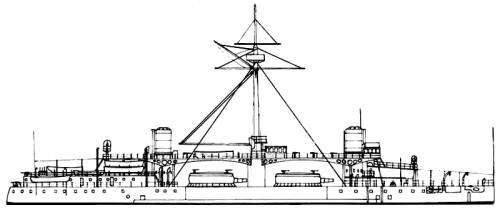 RN Duilio (Battleship) (1880)