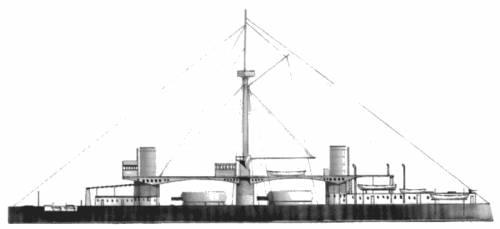 RN Duilio (Battleship) (1900)