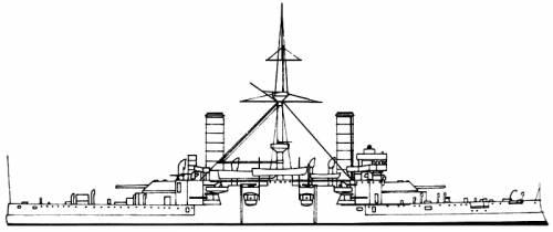 RN Emanuele Filiberto (Battleship) (1902)