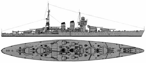RN Giulio Ceasare (Battleship) (1940)