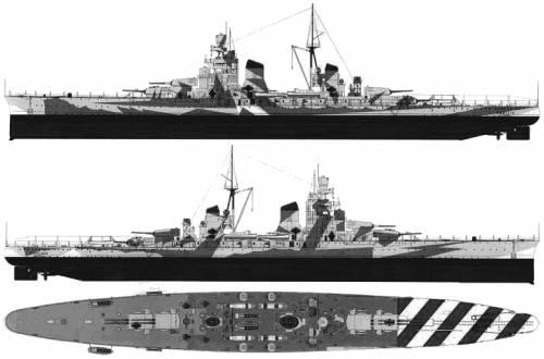 RN Gorizia (Cruiser) (1943)