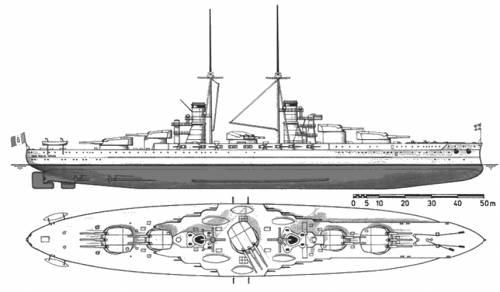 RN Guilio Caesare (1911)