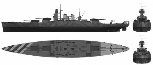 RN Littorio (Battleship) (1941)