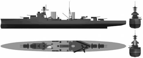 RN Luigi Cadorna (Light Cruiser) (1935)