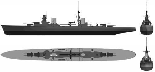 RN Raimondo Montecuccoli (Light Cruiser) (1936)
