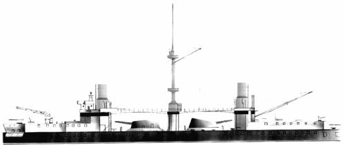 RN Ruggiero Di Lauria (Battleship) (1888)