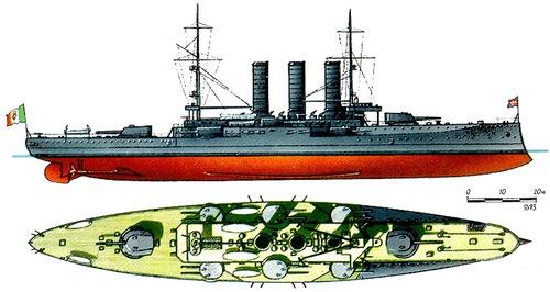 RN Vittorio Emanuele 1908 (Battleship)