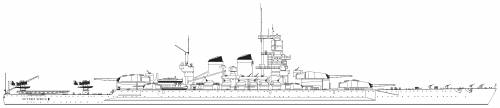 RN Vittorio Veneto (Battleship) (1941)