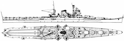 IJN Mogami (Cruiser) (1944)