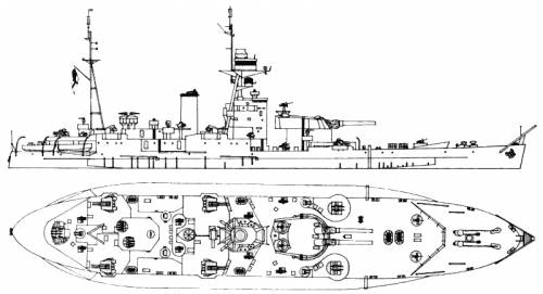 HMS Abercrombie (Monitor) (1943)