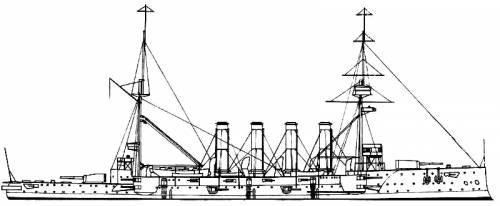 HMS Aboukir (Battleship) (1902)