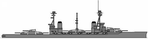 HMS Agincourt (Battleship) (1916)