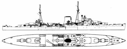 HMS Ajax (Light cruiser) (1943)