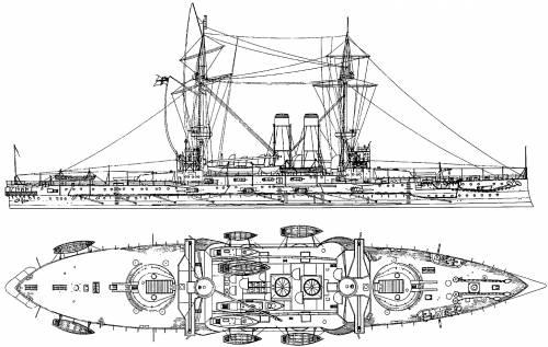HMS Albion (Battleship) (1901)