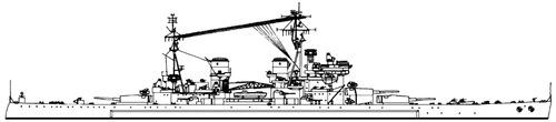 HMS Anson 1945 [Battleship]