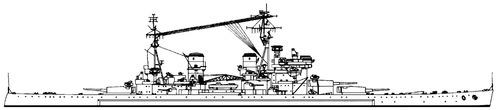 HMS Anson 1946 [Battleship]