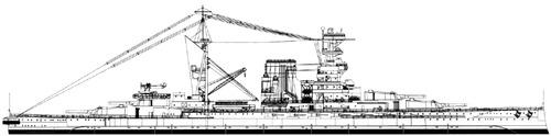 HMS Barham 1937 [Battleship]