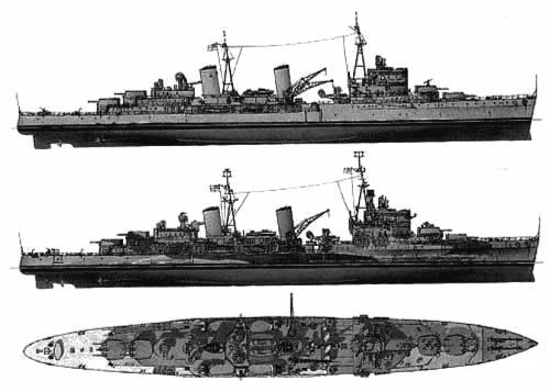 HMS Belfast (Cruiser) (1941)