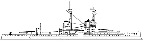 HMS Bellerophon 1918 [Battleship]