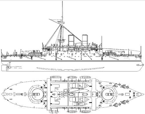HMS Benbow 1902 [Battleship]