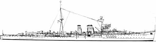 HMS Calcutta (Cruiser) (1939)