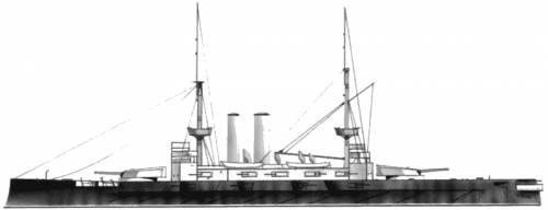 HMS Canopus (Battleship) (1899)