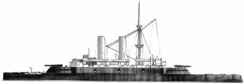 HMS Collingwood (Battleship) (1887)