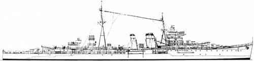 HMS Colombo (Cruiser) (1943)