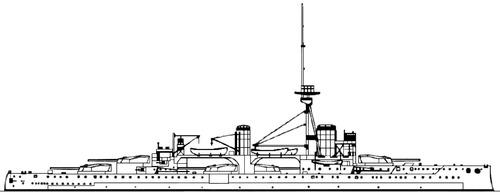 HMS Colossus 1911 [Battleship]