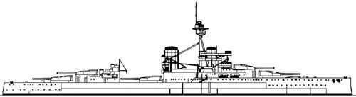 HMS Conqueror 1918 [Battleship]