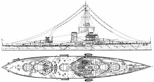 HMS Conqueror (Battleship) (1912)