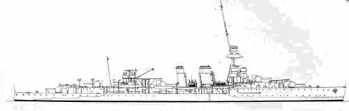 HMS Coventry (Cruiser) (1918)