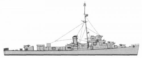HMS Cubitt (Frigate) (1943)