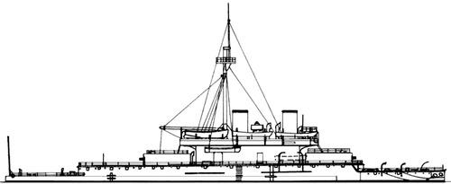 HMS Devastation 1873 [Battleship]