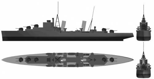 HMS Dido (Light Cruiser) (1941)