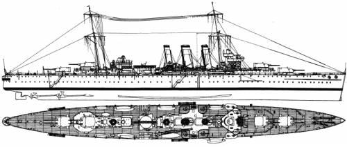 HMS Dorsetshire (Heavy Cruiser) (1932)