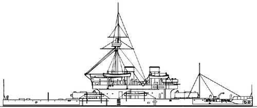 HMS Dreadnought 1877 [Battleship]